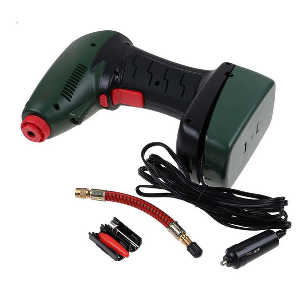 AIR DRAGON Compressor 12V Handheld Portable Digital Car Pump Inflator Tire Tyre