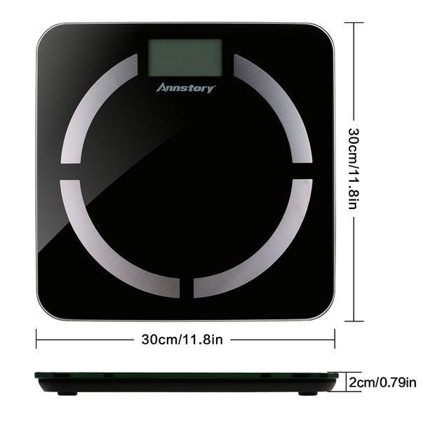 Bluetooth Body Fat Scale Smart Scale with Wireless IOS and Android App