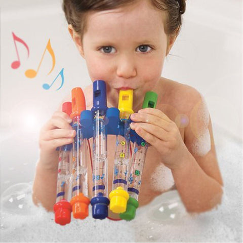 Bath Music Bathing Colorful Water Flute Toy Bathroom Funny Sound