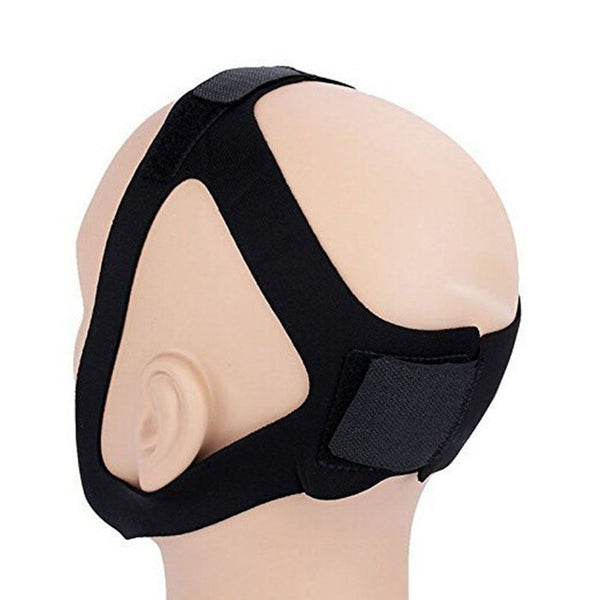 Adjustable Anti Snore Stop Snoring Chin Strap Sleep Apnea Aid Belt Jaw Support