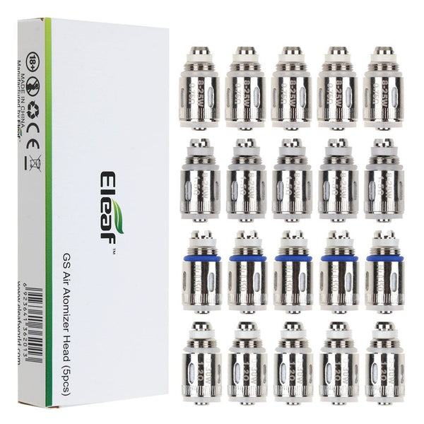 5Pcs For Eleaf GS-Air 2 GS16 GS16S Cotton Replacement Coil Heads 0.75/1.2/1.5ohm