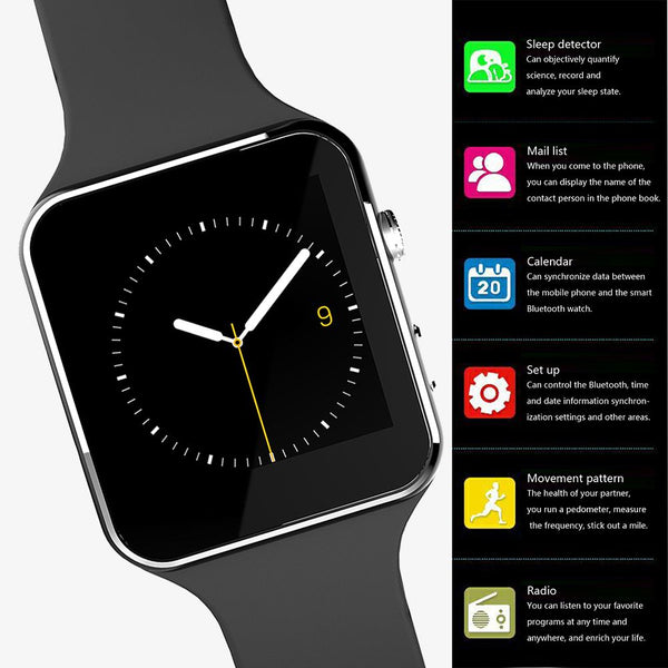 Apple & Android Compatible 15-in-1 GSM Smart Watch
