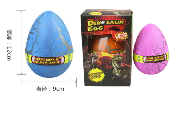 2018 Add Water Grow Funny Toys Children Kid Gift Magic  Big Size Dinosaur Egg