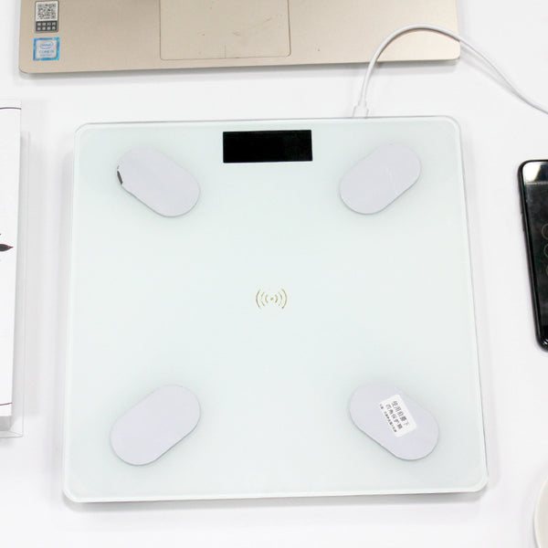 Bluetooth Body Fat Scale - Smart BMI Scale Digital Bathroom Wireless Weight Scale, Body Composition Analyzer with Smartphone App