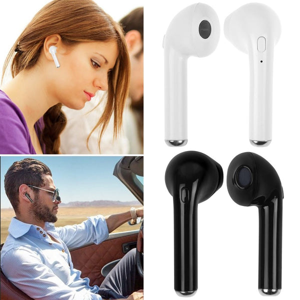 Bluetooth Headphones Mini Twins I7s TWS Wireless Headset In-Ear Headphone Earphone Earpiece with Charging Case For IOS, Android, iphone Bluetooth headset i7