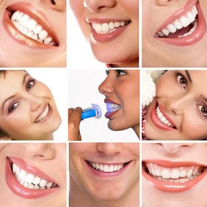 Dental Health Oral 1 Set Bleaching Beauty Dental Teeth Whitening System Gel