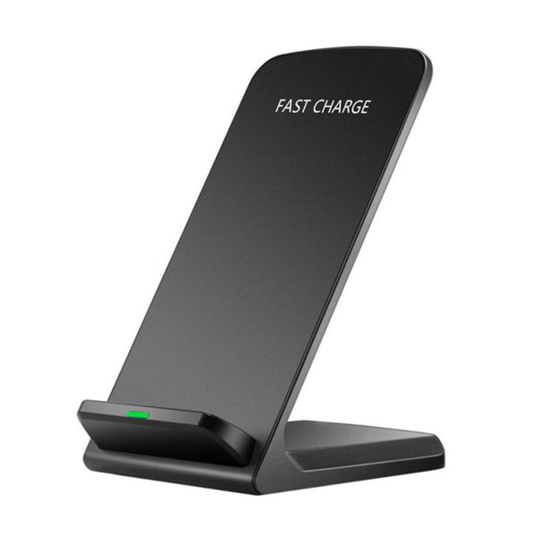 QI Wireless 10W Fast Charger Charging Stand Holder For iPhone Android