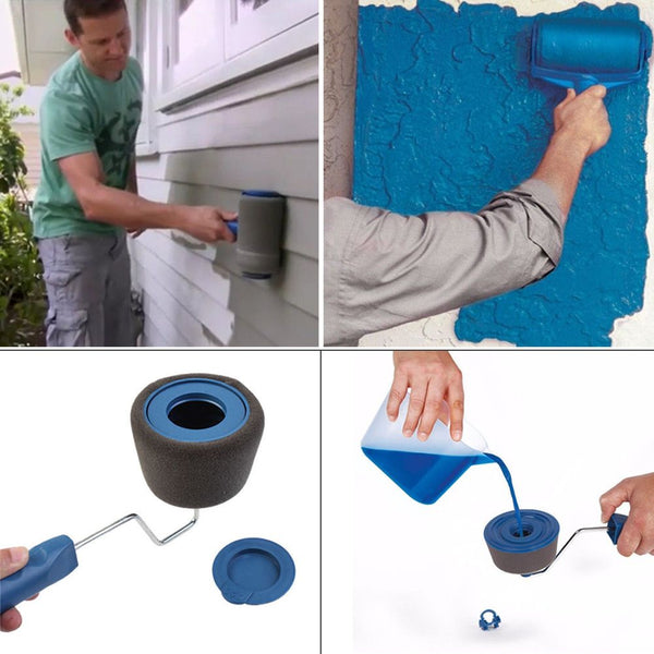 5pcs/kit Paint Pro Roller - The Renovator - Pintar Facil Painting Set