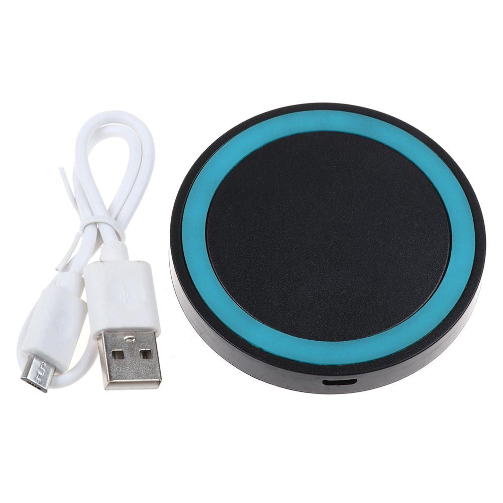 Qi Wireless Charger Dock Pad & Charging Receiver for iPhone & Samsung Android