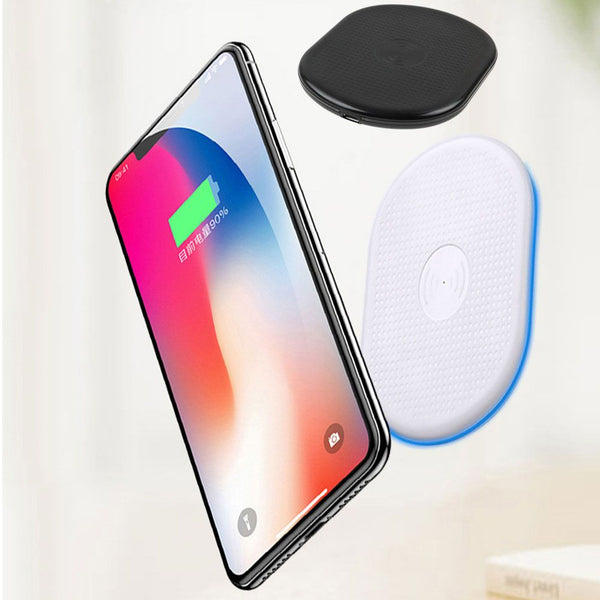 Qi Wireless Charger Charging Pad for Samsung Galaxy Note 8/ S8+ iPhone X 8