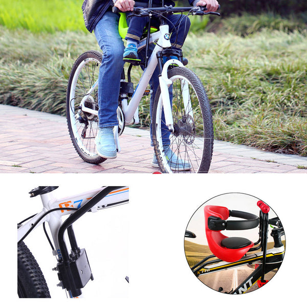 Safety Stable Baby Child Kids Bicycle Bike Front Seat Chair Carrier Sport Seats