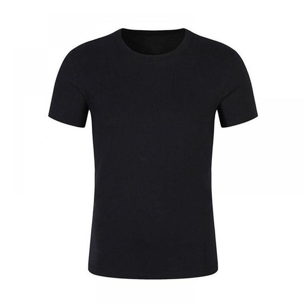 Anti-Dirty Waterproof Men T Shirt Breathable Antifouling Quick Dry Top Short Sleeve Solid T-Shirt