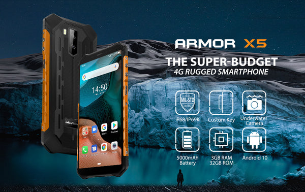 Ulefone ARMOR X5 Android 3+32GB Face Unlock  Smart Phone