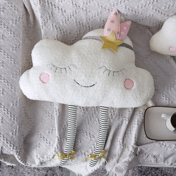 Cloud Plush Toy Decorative Cushion for Sofa Bed Stuffed Dolls Pillow