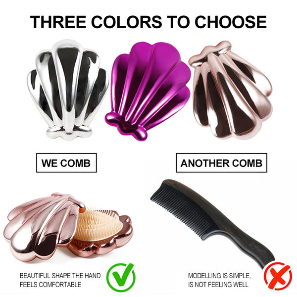 Shell Shape Professional Magic Hair Comb