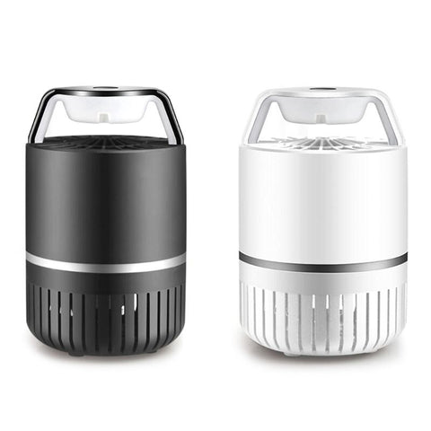 Electric Fly Bug Zapper Mosquito Insect Killer LED Light Trap Lamp USB Rechargeable Pest Control
