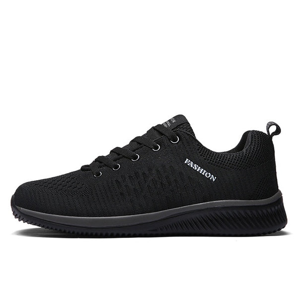 Exclusive New Mesh Men Casual Shoes Lac-up Men Shoes Lightweight Comfortable Breathable Walking Sneakers