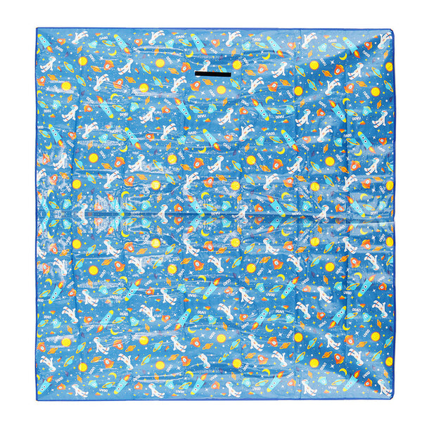 Extra Large Waterproof Folding Camping Mat Sleeping Camping Pad Outdoor Play Picnic Blanket Beach Rug Travel Mat BBQ 180 x 160cm