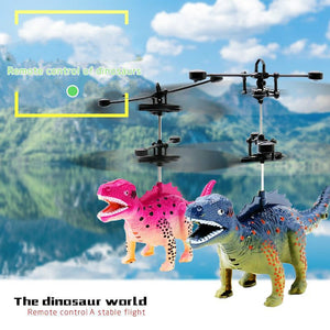 Flying Helicopter Dinosaurs Dragon Toy