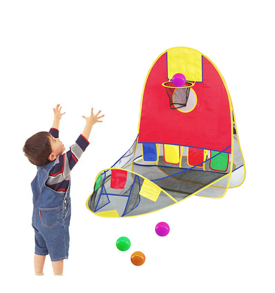 Foldable Toddler BasketBall Tent