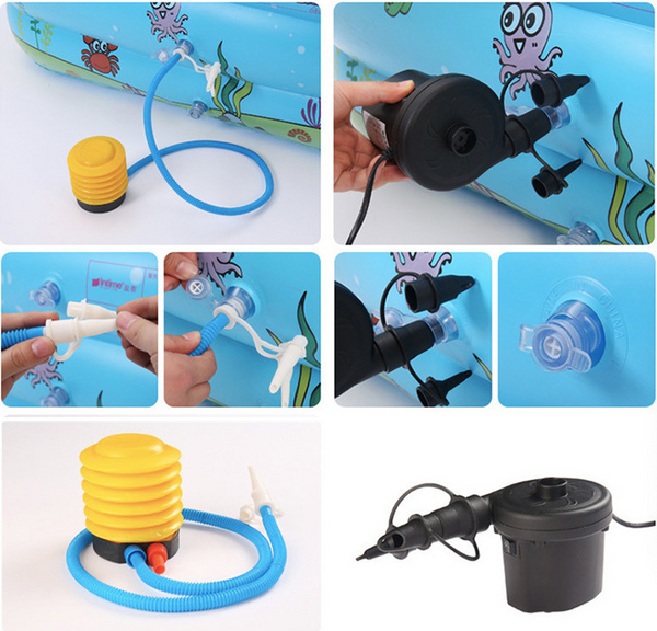 Adult Children PVC Inflatable Pool Swimming Paddling Pool