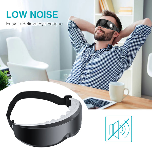 Eye Massager Eyewear Vibration Health Care USB Device Wrinkle Fatigue Relieve