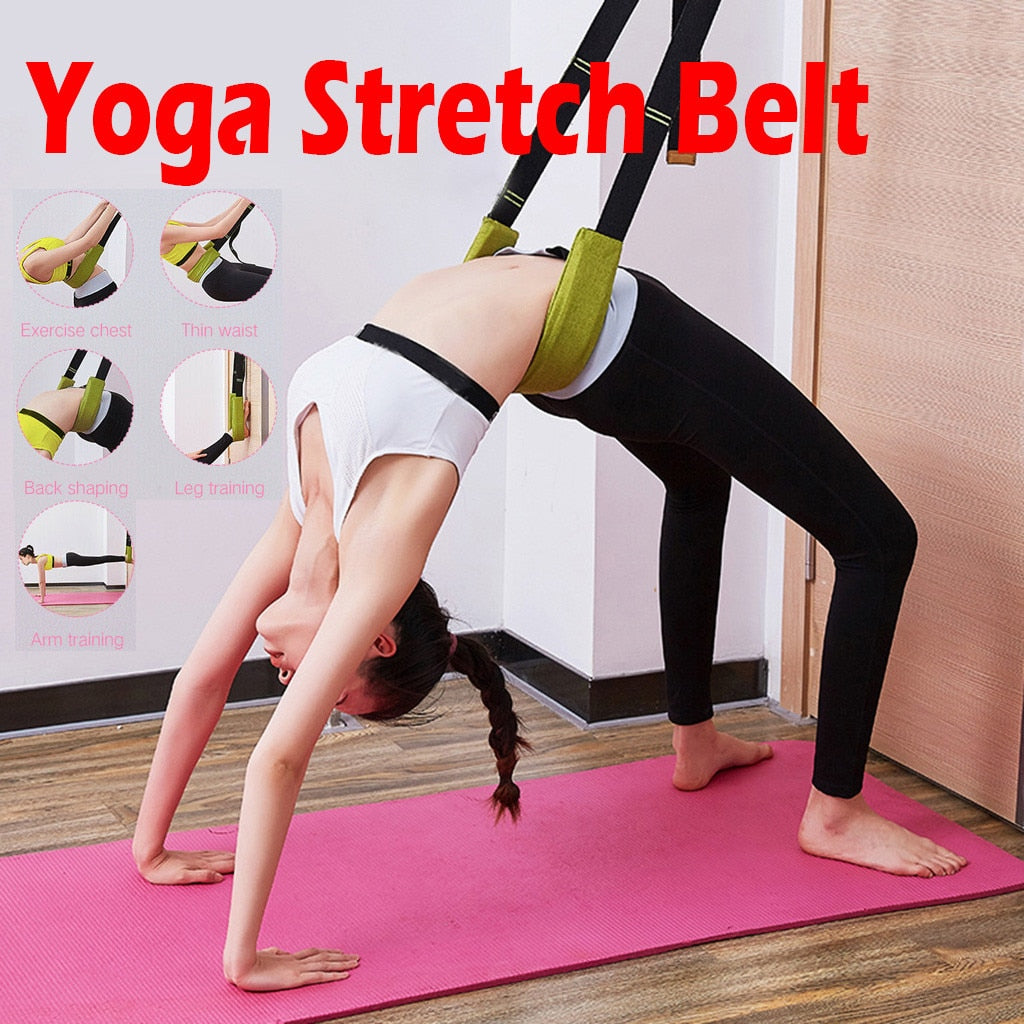 Flexibility Stretching Leg Stretcher Strap For Ballet Cheer Dance Gymnastics Trainer Yoga Stretch Belt