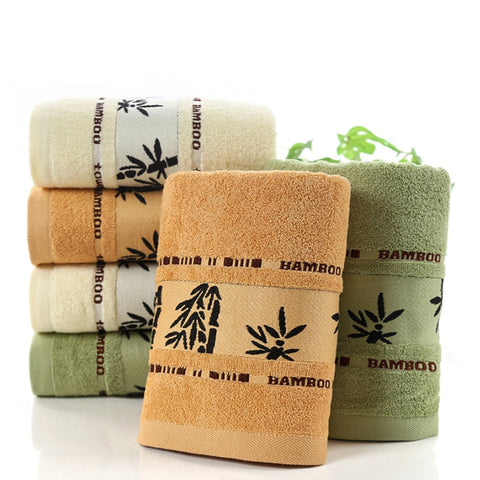 Bamboo Towels Super Soft Face Bath Towel Set