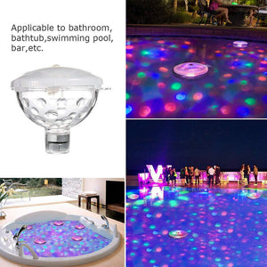 RGB Submersible LED Disco Light Glow Show Swimming Pool Lamp