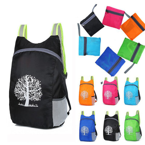 New high quality Durable Waterproof Folding Packable Lightweight Outdoor Travel Hiking Backpack