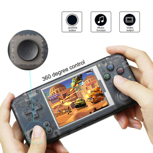 Classic Retro Handheld Game Console Video Game Player 3.0 inch Screen 16GB Portable Games Player Built-in 3000 Games