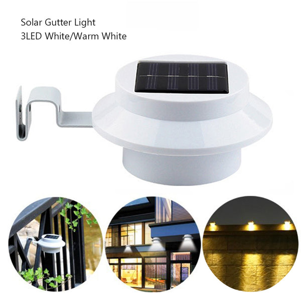 3LED  LED Solar Gutter Light