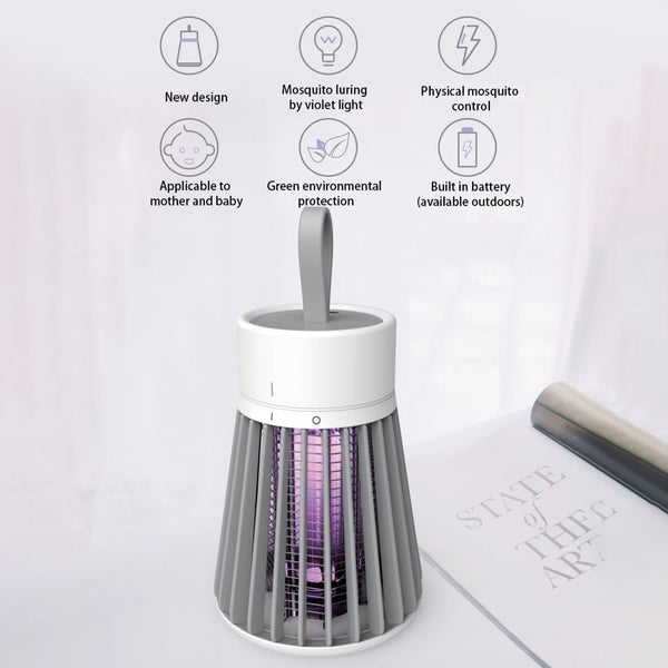 Mosquito Lamp LED Silent Mosquito Repellent Light Anti Mosquito UV Night Light