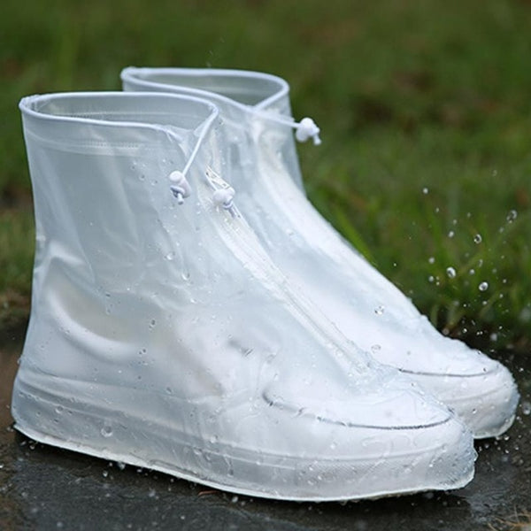 Men Women's Rain Waterproof Boots Cover Heels Boots Reusable Shoes Covers