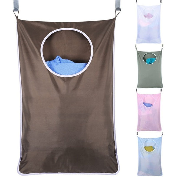 Home Storage Hanging Bags Large-capacity Laundry Bags Behind The Doors Portable Durable Oxford Bags