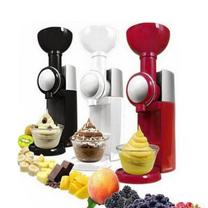 DIY Ice Cream Maker Machine Portable Size Household Use Automatic Frozen Fruit Dessert Machine