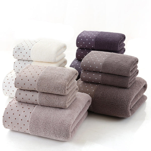 Large Cotton Bath Shower Towel Thick Towels Home Bathroom Hotel For Adults Kids