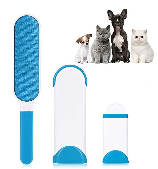 Pet Fur Lint Remover Cleaning Clothes Brush Cat Dog Hair Dust Magic Brusher