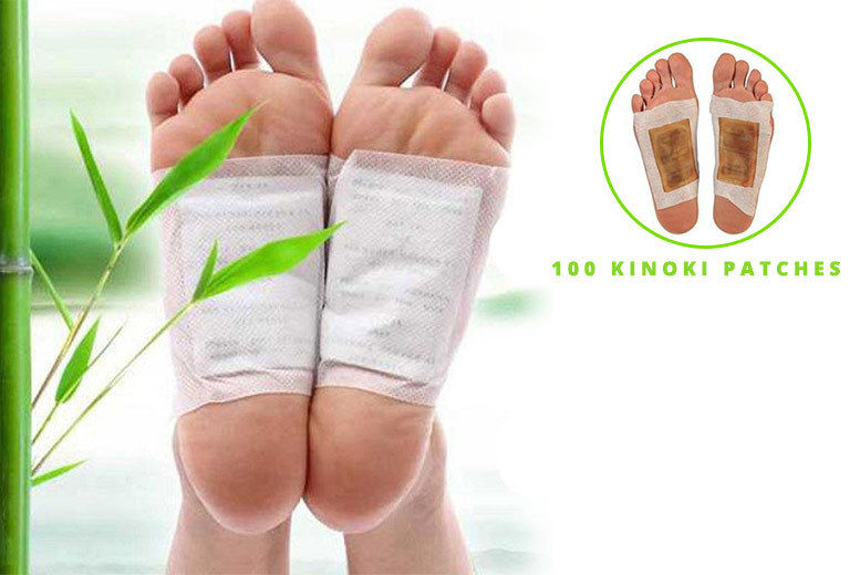 20PCS Detox Foot Patch Pads Detoxify Toxins Fit Health Care Detox Pa SP