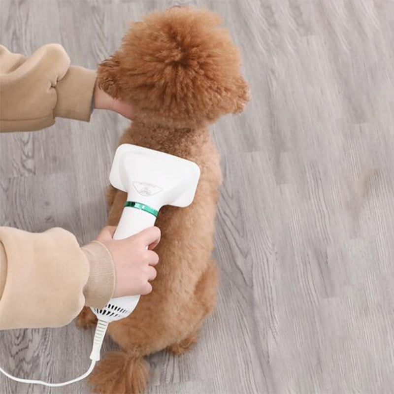2 in 1  Dog Hair Dryer Pet Grooming Hair Brush for Dog Cat