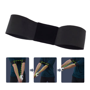Golf Swing Training Aid Golf Arm Band Posture Motion Correction Belt
