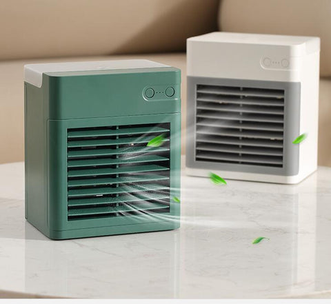 Air Conditioner Fan Purifier Humidifier Desktop Cooling Fan with 3 Speeds