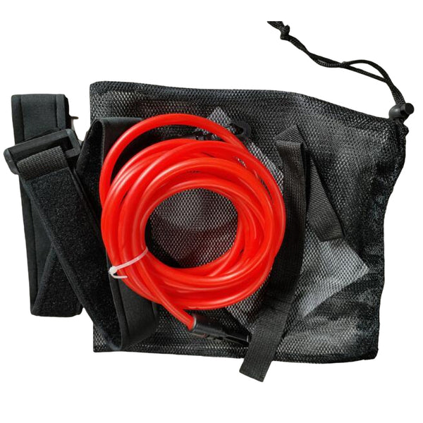 4Meters Swimming Training Belt Tether Stationary Swim Training Resistance Elastic Rope