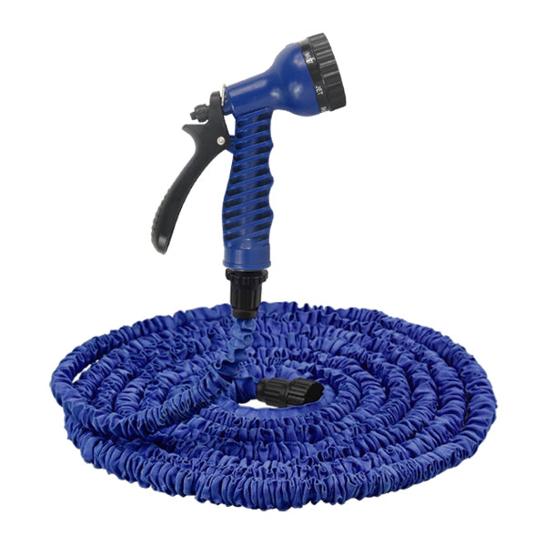 75Ft Expanding Expandable Flexible Garden Water Hose Pipe with Spray Nozzle Gun