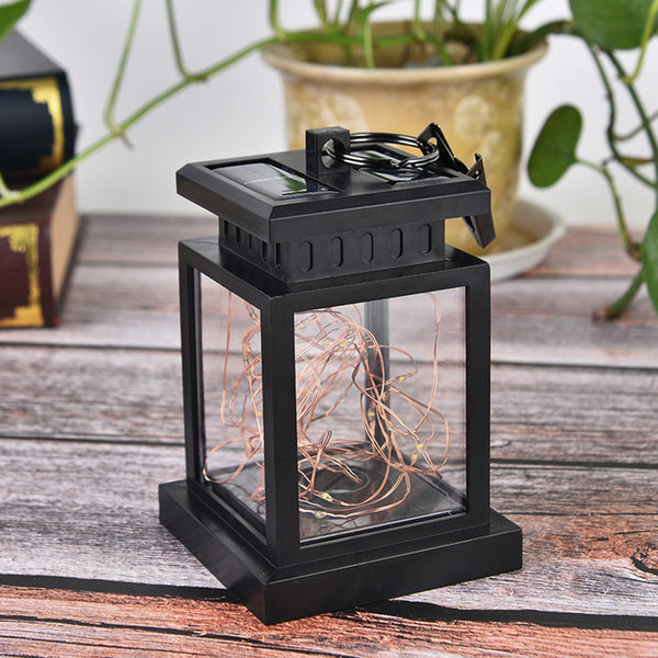 Solar Light Waterproof Outdoor Lamp Hanging Light LED Yard Patio Garden Lamp Decors