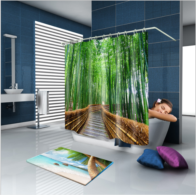180x180 Shower Curtains