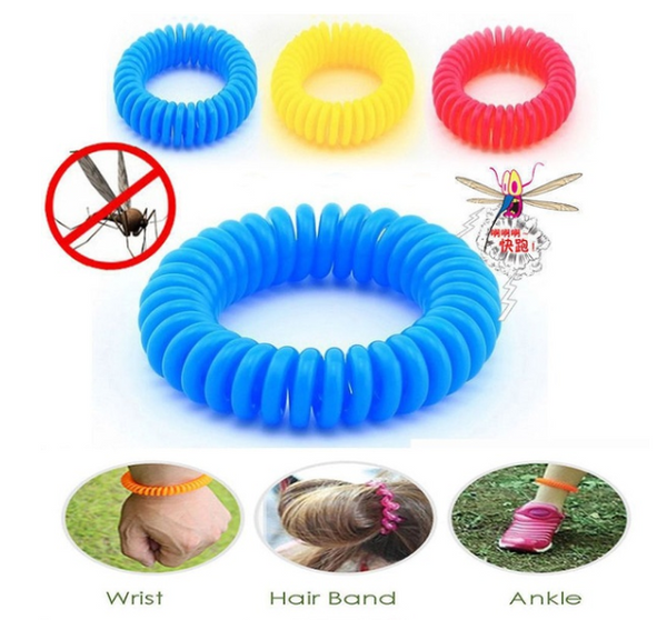 10PCS Outdoor Hiking Camping Repellent Anti Mosquito Bracelet