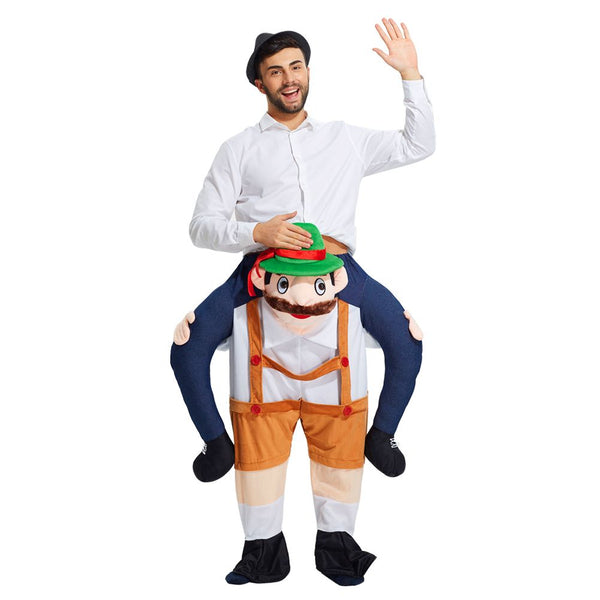 Piggyback Ride Me Ride On Piggy Back Costume Stag Night Halloween Self Fill Legs