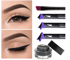 Cat Eye Eyeliner Stamp 3pc Set