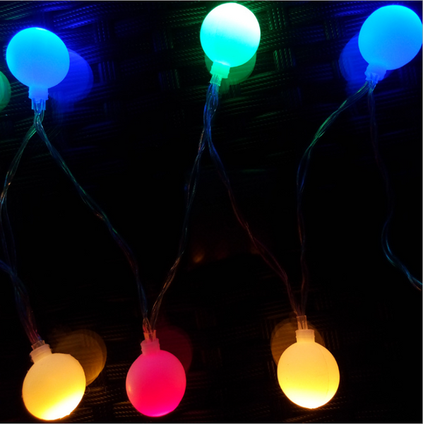Beauty LEDS Mini Ball Global LED String Light